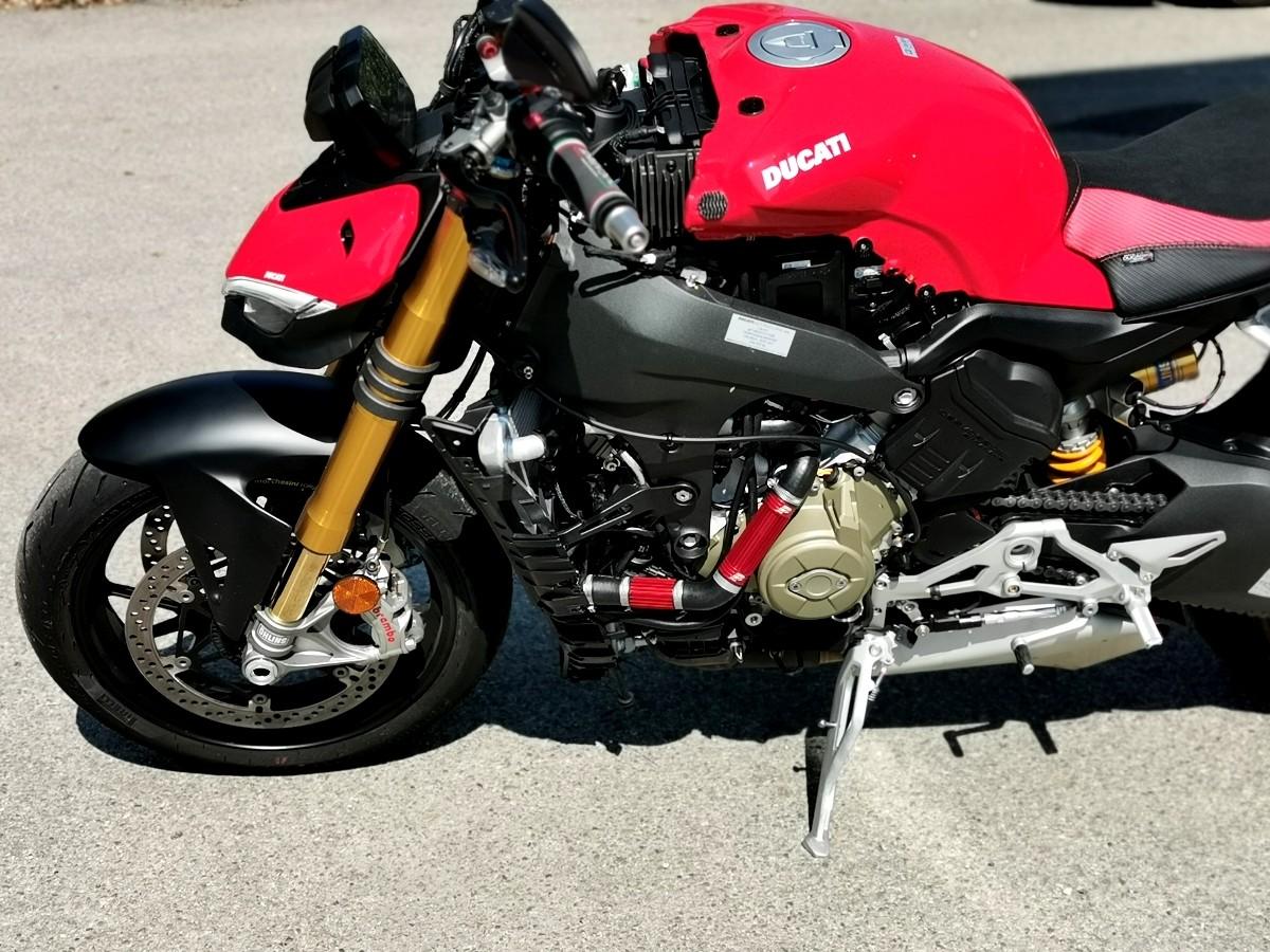 B/équille dAtelier Set pour Ducati Hyperstrada 939 2016 Arri/ère Avant CLR