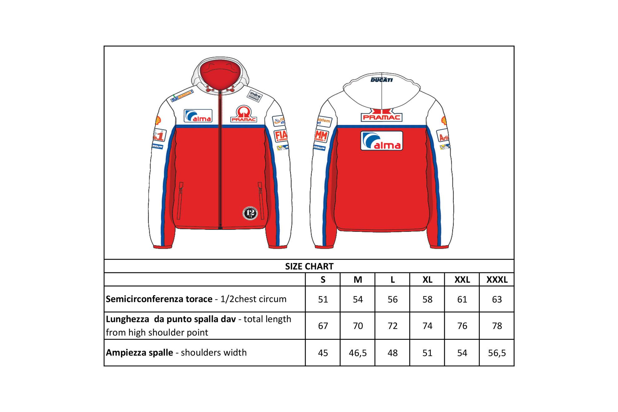 Homme Ducati Tricolore T-Shirt